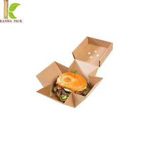 innovative printed custom packaging box burger