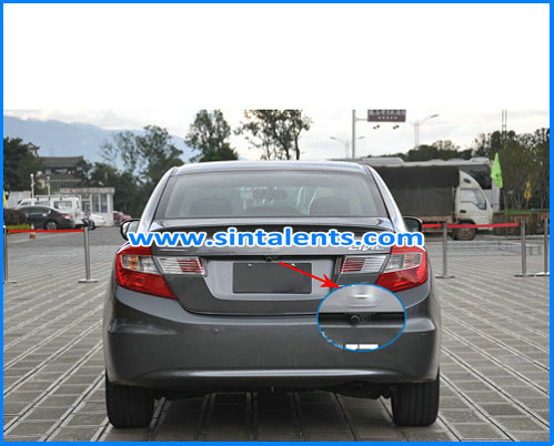 Car rear view camera/car parking sensors camera system