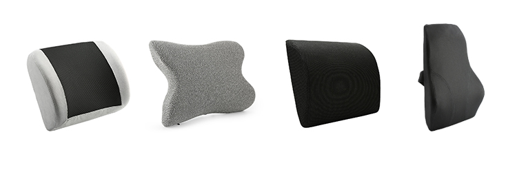 New Design Mesh Office Chair Memory Foam Lumbar Support cushion Pillow Back Cushion For Back Pain