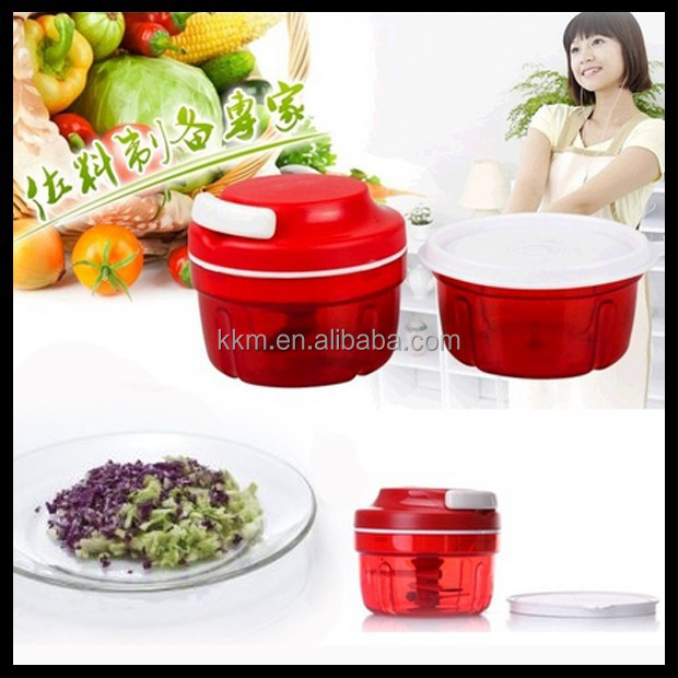 New Style Multi-purpose kitchen hand vegetable chopper, onion slicer, garlic dicer as see on TV