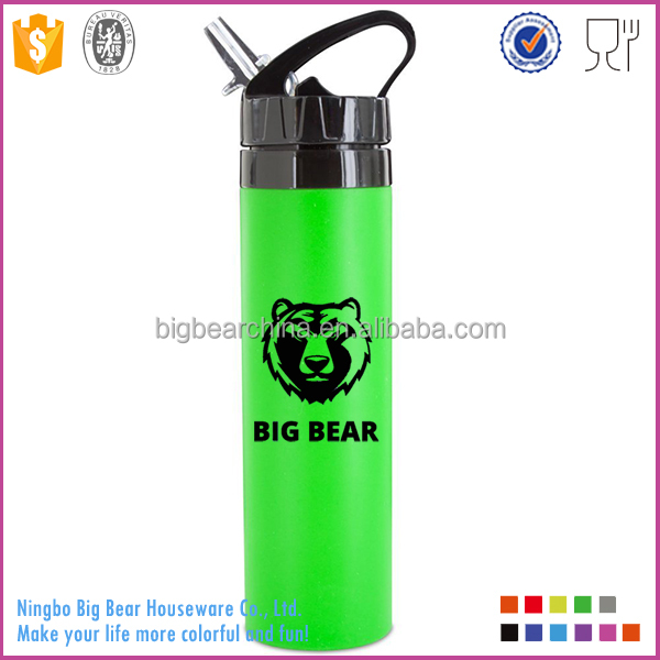 20oz Leak Proof Collapsible Silicone <strong>Sports</strong> Travel Camping Water Bottles