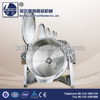 Industrial chickpea Steam cooking equipment