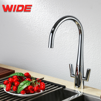 European Double Handle Bar Swivel Water Tap Kitchen Faucet For Commercial -  Buy Double Handle Bar Swivel Kitchen Faucet,European Kitchen Faucet,Water  ...