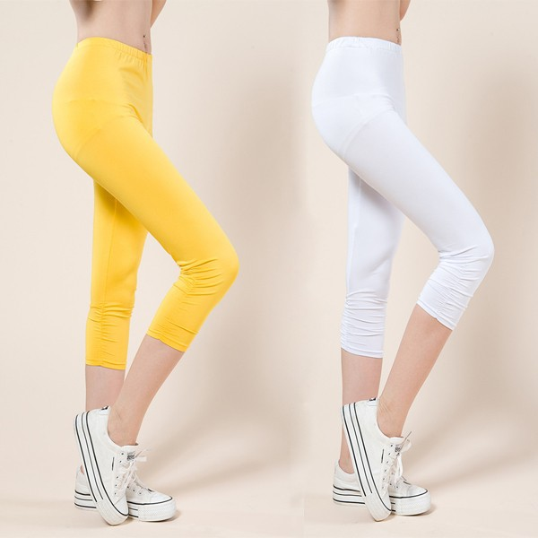 TLZC Korean Women Elastic Pencil Pants Plus Size L-4XL 2017 New Arrival Lady Skinny Leggings High Quality Female Slim Capris