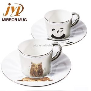 4pcs-12pcs set espresso porcelain coffee ceramic tea cup and saucer set