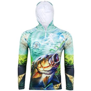 1f2b509e1 Meme nuevo estilo 5 tamaño ropa de pesca chalecos secado rápido anti-UV sol  pesca