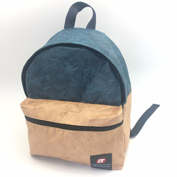 Reusable Brown Paper Bag. Large, Durable, Insulated, Eco-Friendly, Tyvek Backpack