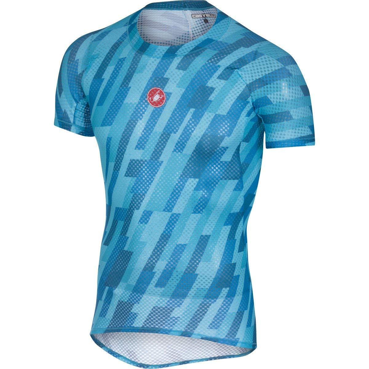 439c59c74b1e42 Get Quotations · Castelli 2018 Men s Pro Mesh Short Sleeve Cycling Base  Layer - A18014
