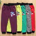 Hot Sale Spring autumn cotton boy pants girl Mickey pants kids casual pants boy Sweatpants children
