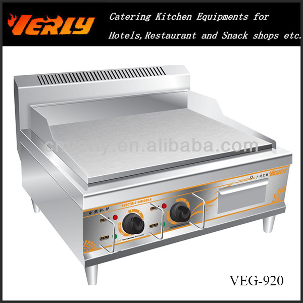 Hot Plate /Electric Griddle / restaurant equipment VEG-920