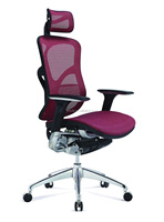 beauty ergonomic high back office chair with wheels