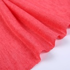 Red beautiful spandex polyester fabric stretch suit for sports wear fabric