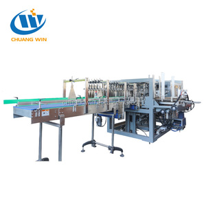 Carton Packing Machine Bottle Wrap Around Case Packer Dropdown Packer