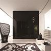 Trlife wardrobe manufactures direct custom black lacquer wood door closet organizers wooden almirah desig photos bedroom closet