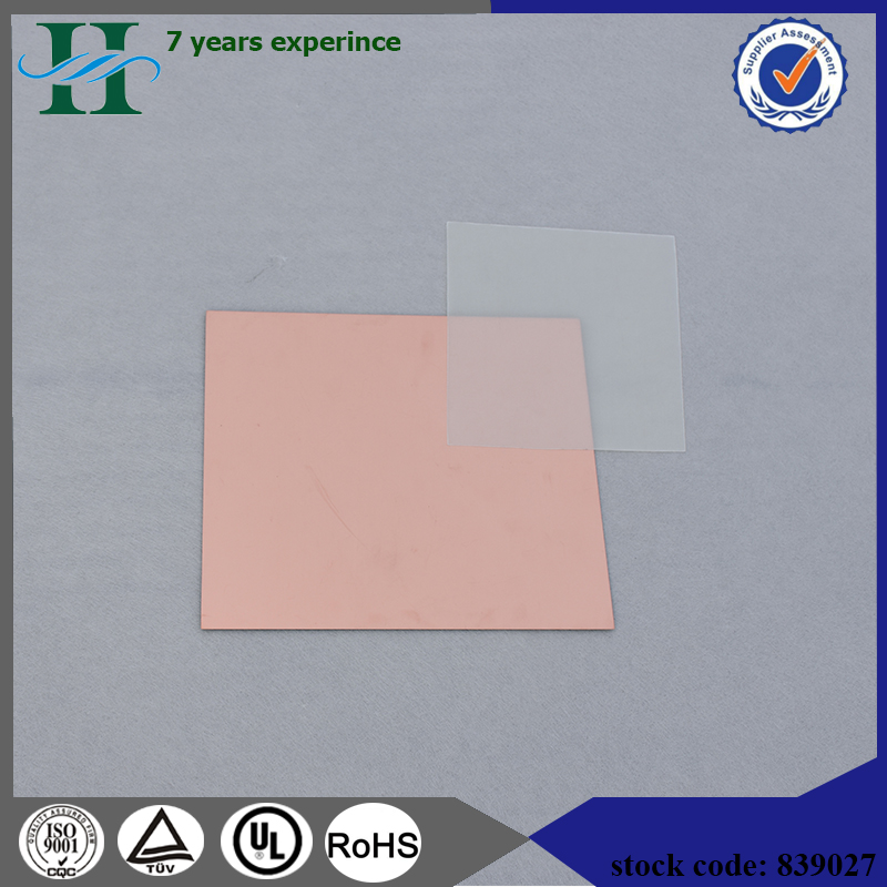 FR4 glass fabric copper clad laminate sheets resin epoxy
