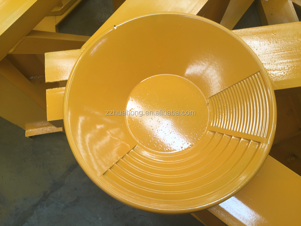 gold panning dish for gold extraction