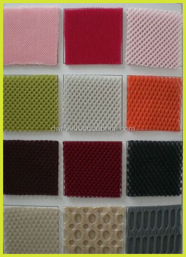 100 Polyester Mesh Fabric,2-4mm 3d Air Mesh,Knitted Mesh Fabric ...