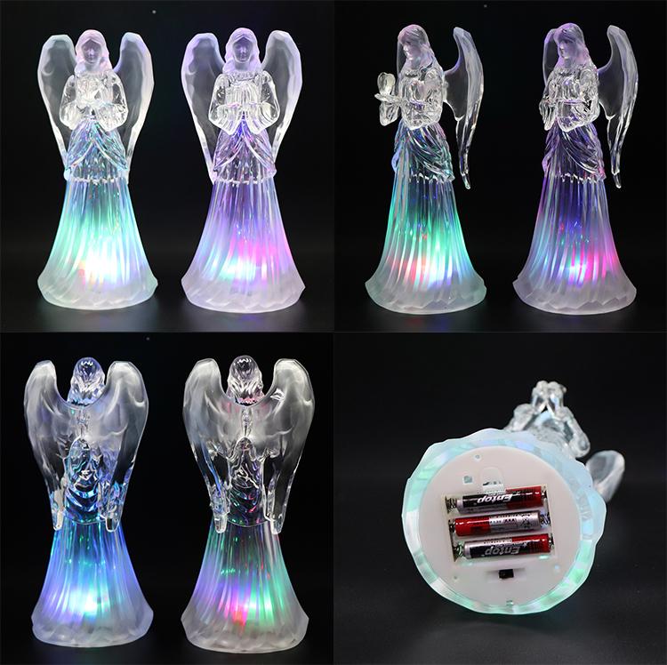Ангел света украшение поставляет Рождественский подарок