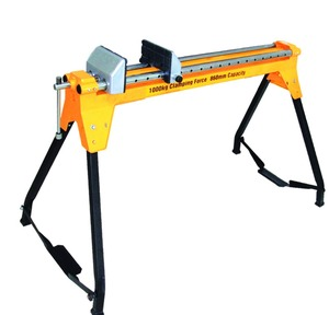clamp folding homemade adjustable workbench