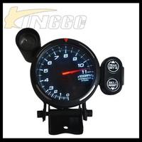 Racing 80mm Car Auto Gauge,Black Universal Rpm Auto Meter For Car ...
