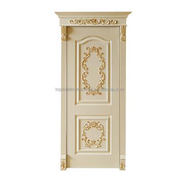 Indoor Golden Decorative Curves French Main Door Design Buy