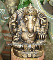 Lord Ganesha Statue Bronze color