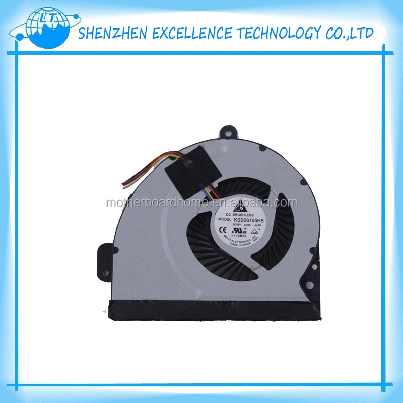 New For asus fans A43S X53S K43S K53S CPU cooling fan free shipping