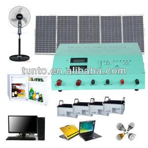 Solar Panel Kit for Home Use Appliances like Fridge,Fan,Laptop