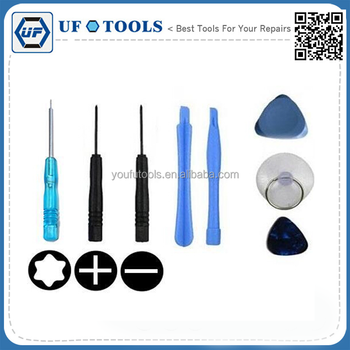 2017 UF for iPhone/iPod Repair Opening Tool Kit Pentalobe Star Screwdriver - 8 Pcs Tool Set