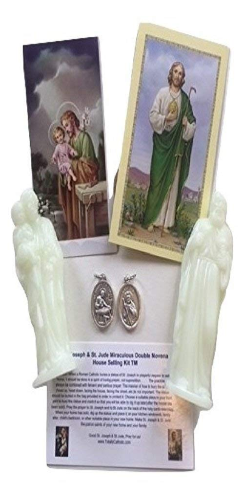 Get Quotations Jmj Products Llc Miraculous Double Statue House Ing Kit Of St Joseph And