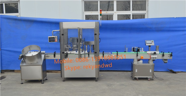 Shanghai Factory Automatic Perfume Filling and Capping Machine