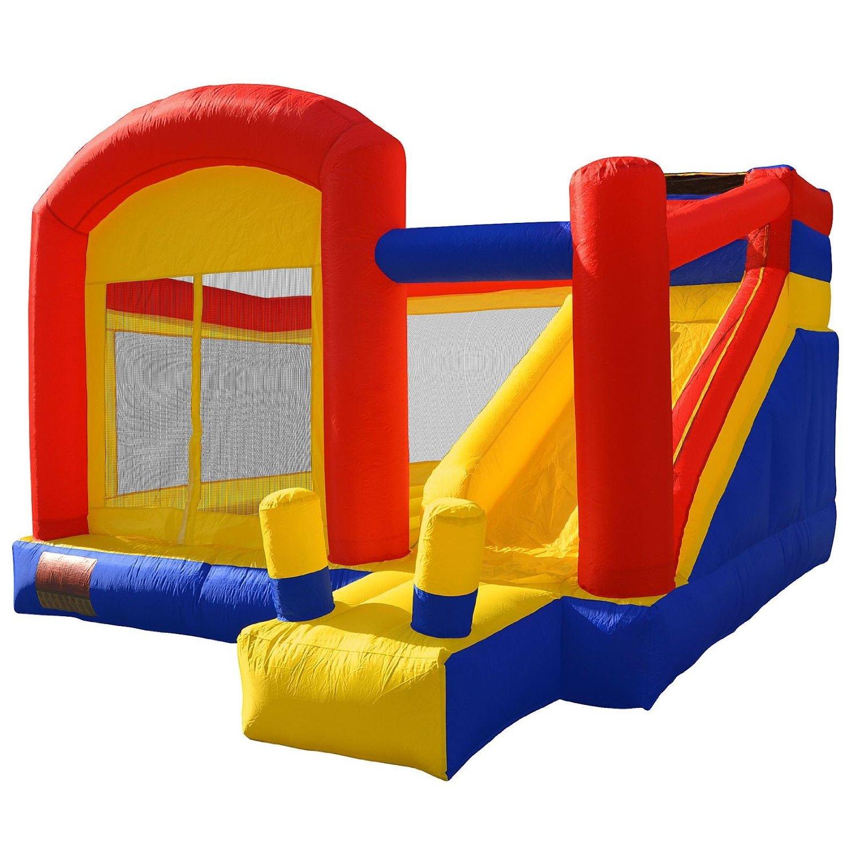 Inflatable Bounce Play House Mighty Slide Moonwalk Jumper Bouncer Bouncy Jump Castle #4