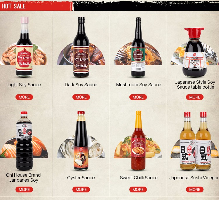 Japanese Style soy sauce Chi House Brand 1000ML