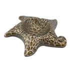 Wholesale factory new design color filling starfish shape cigar ashtray