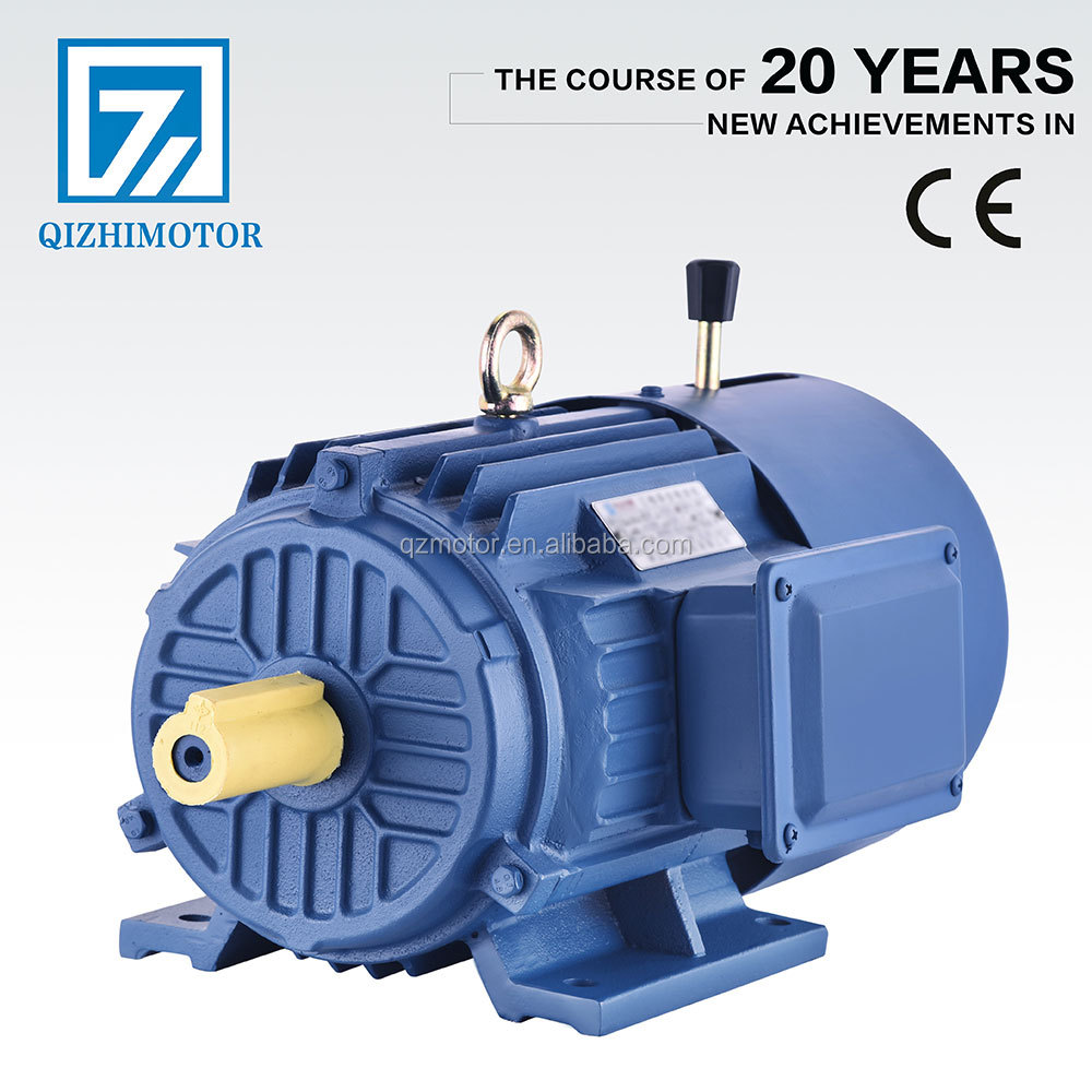 Y2EJ 0.37kw 0.5hp Three-phase asynchronous magnetic ac motor manufacture