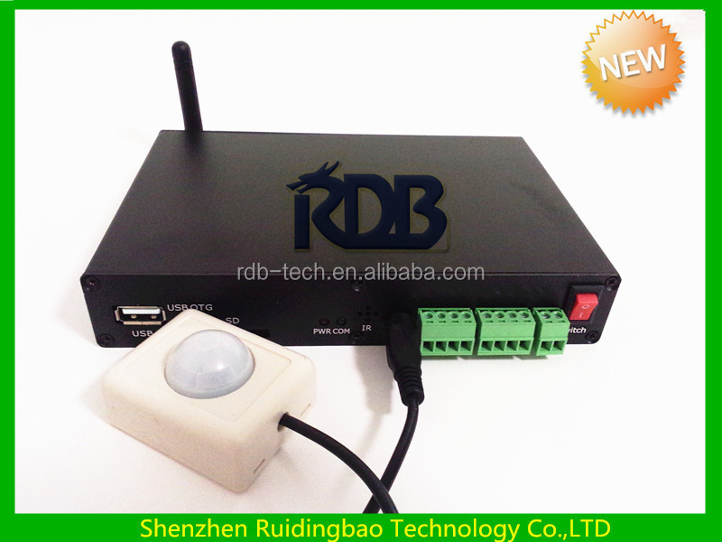 RDB High quality wireless China best Realtek 1185 /1186network internet TV HDD Media player DS009-33
