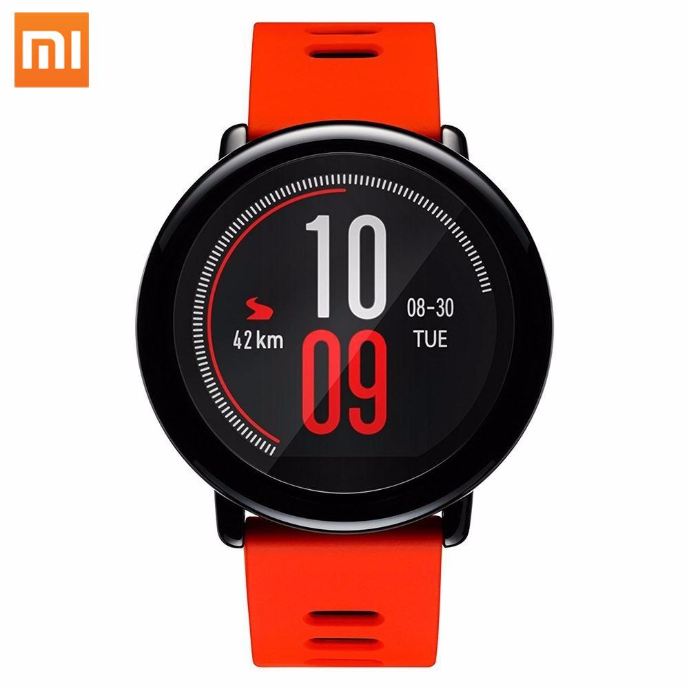 Durable huami GPS IP67 presión arterial impermeable reloj inteligente