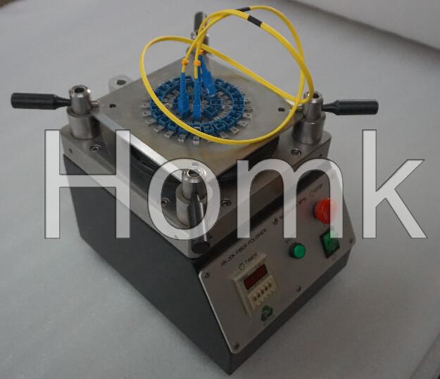 Fiber Optic Polishing Machine with Fiber Polishing Fixture