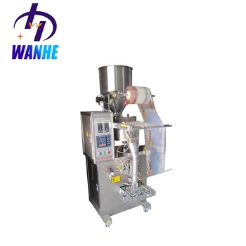 WHIII-K100 Automatic granule cookies popcorn packing machine washing powder packing machine