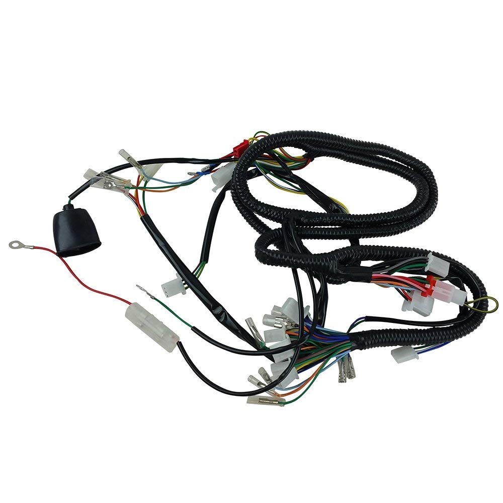 get quotations � chinese gy6 150cc wire harness wiring assembly scooter  moped sunl roketa