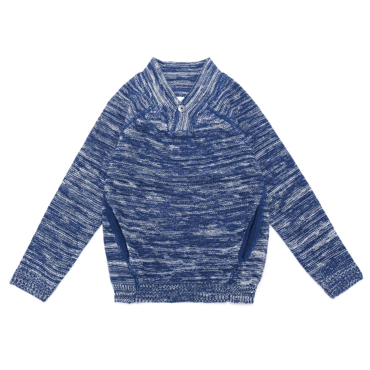 Crazy 8 Boys Faux Tie Pullover Sweater