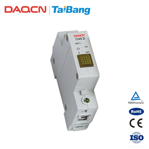 DAQCN 2018 New Products C45D Series LED Modular Indicator Mini Circuit Breaker