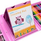 Set For Kids Drawing Art Set For Kids As Gift Painting Art Supplies Deluxe Plastic Case 172 Pcs