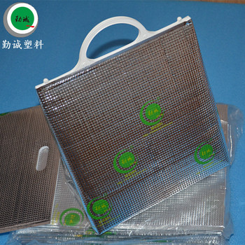 Promotional Waterproof Disposable Aluminum Foil Insulated Cooler Bag For Frozen Food