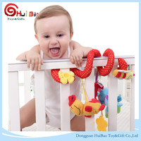 Factory infant crib hanging toy baby plush toys plush bed decorations