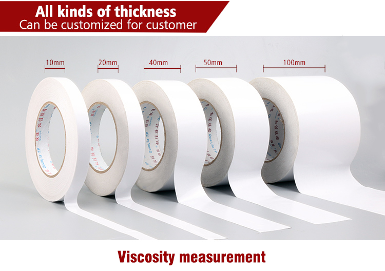 Cheap double sided adhesive tissue tape