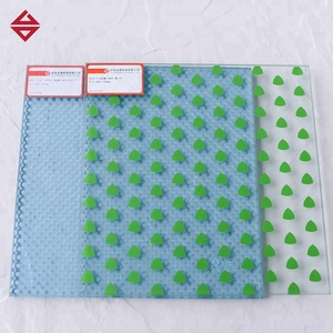 DECORATIVE HIGH TRANSMITTANCE TEMPERED SAFETY COLORED PVB LAMINATED GLASS PANELS PRICE