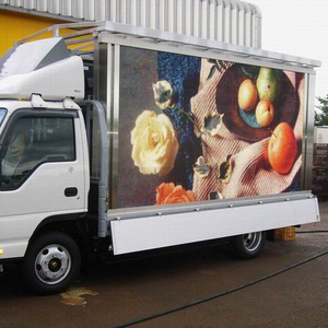 P10 P4 P5 outdoor advertising trailer truck led mobile screen price