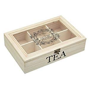 Get Quotations · Wooden Tea Storage Box Windowed - 26x17x6cm (Pack of 4)  sc 1 st  Alibaba & Cheap Wooden Tea Box find Wooden Tea Box deals on line at Alibaba.com
