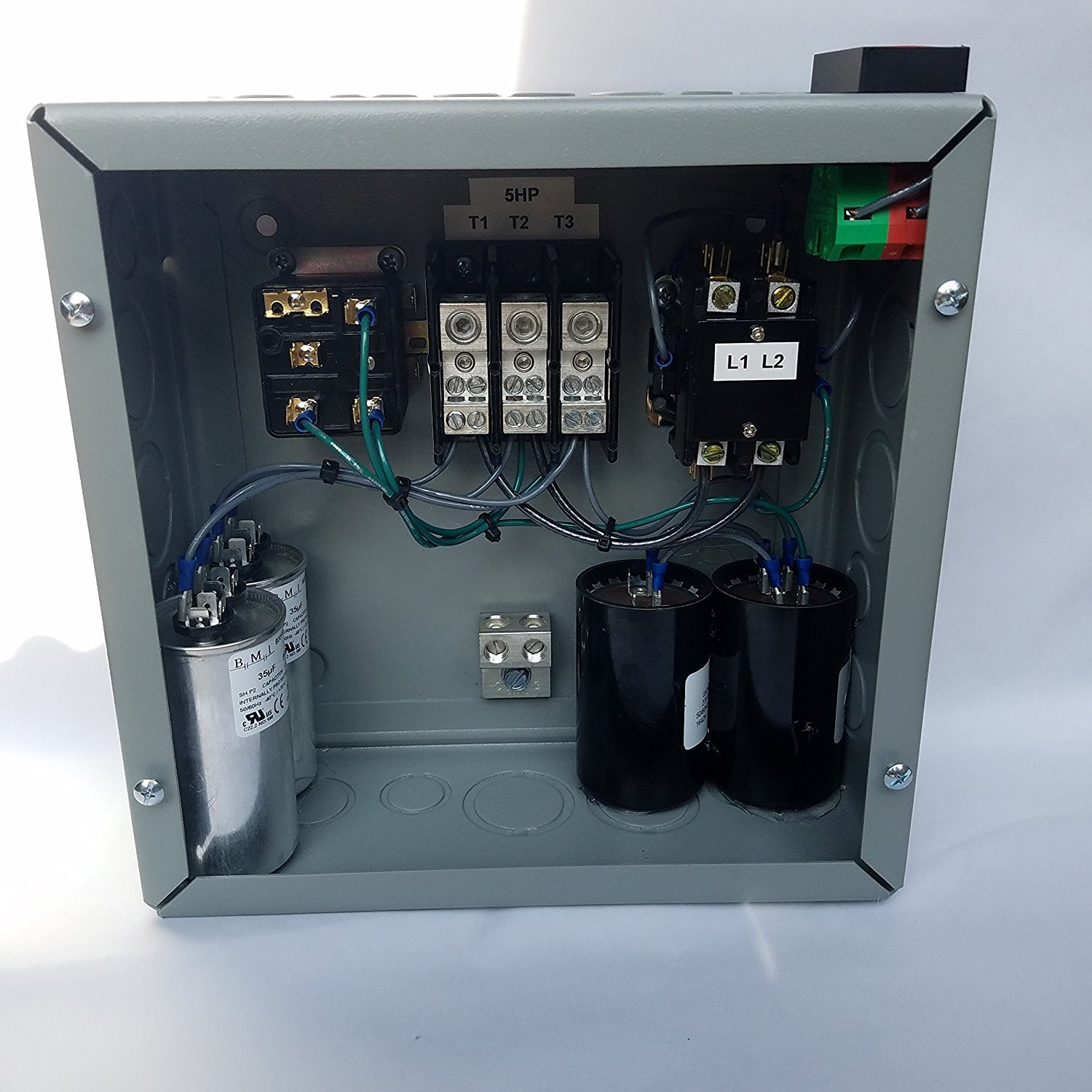 3hp 3 Phase Rotary Converter Panel